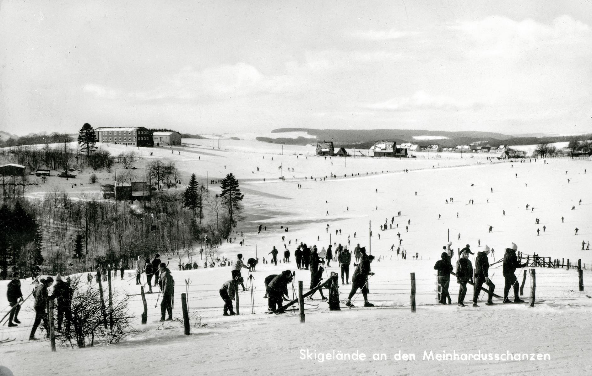 Sprungschanze Meinerzhagen 1968