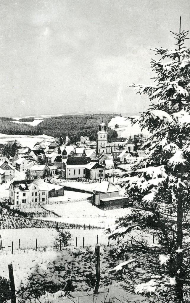 Meinerzhagen im Schnee 1941