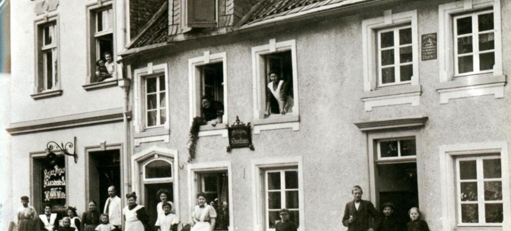 Das Haus des Friseurs Wilhelm Müller