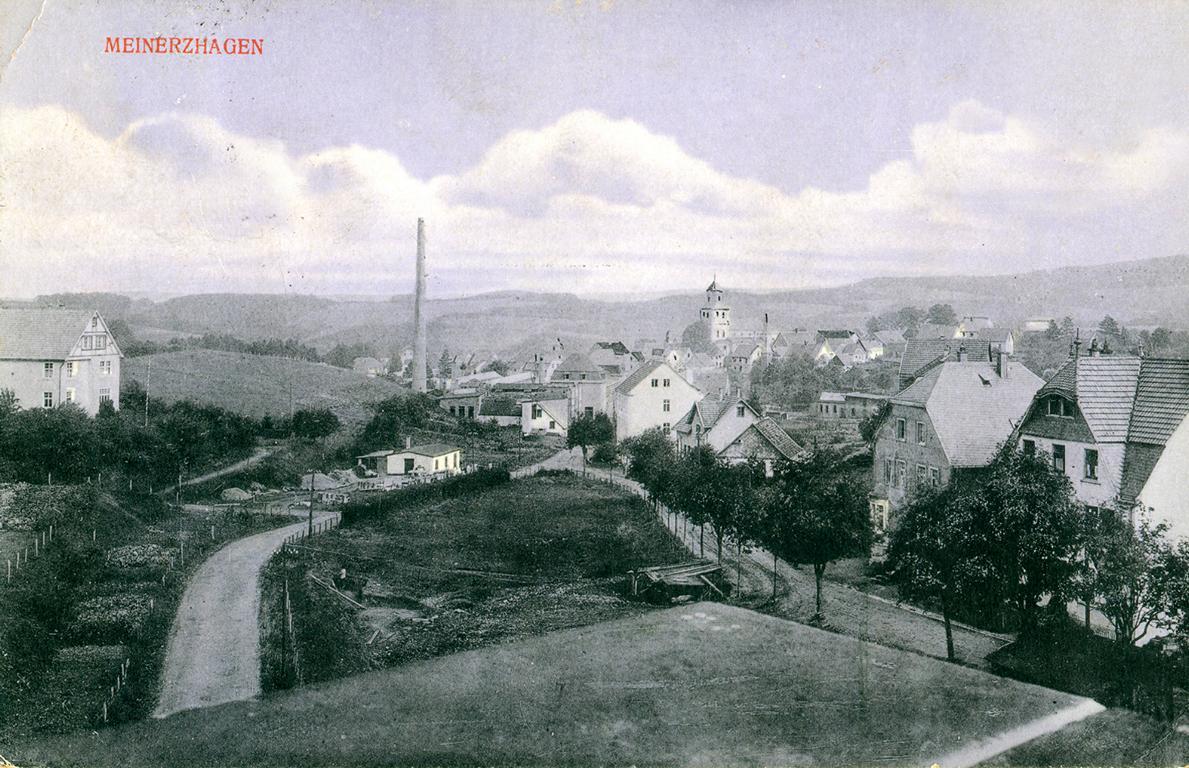 Meinerzhagen 1925 © Foto: Sammlung Schildchen