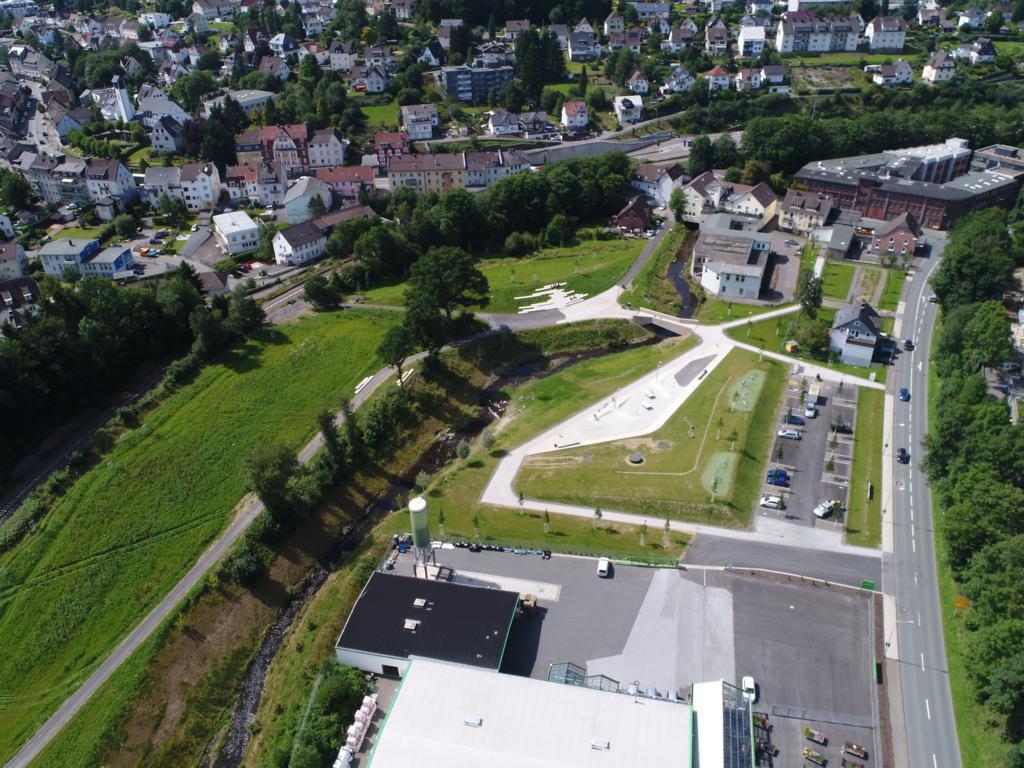 Volme-Freizeitpark, Kierspe © 2017 Luftbild: Rüdiger Wirth