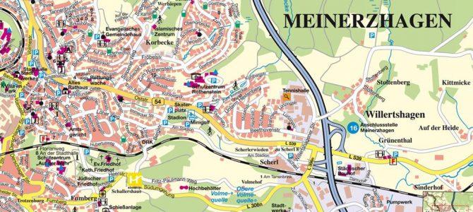 Neuer Stadtplan für Meinerzhagen