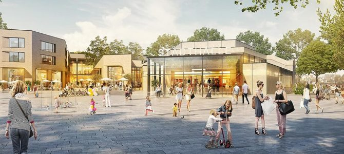 Stadt stellt Konzept für Stadthallenareal vor