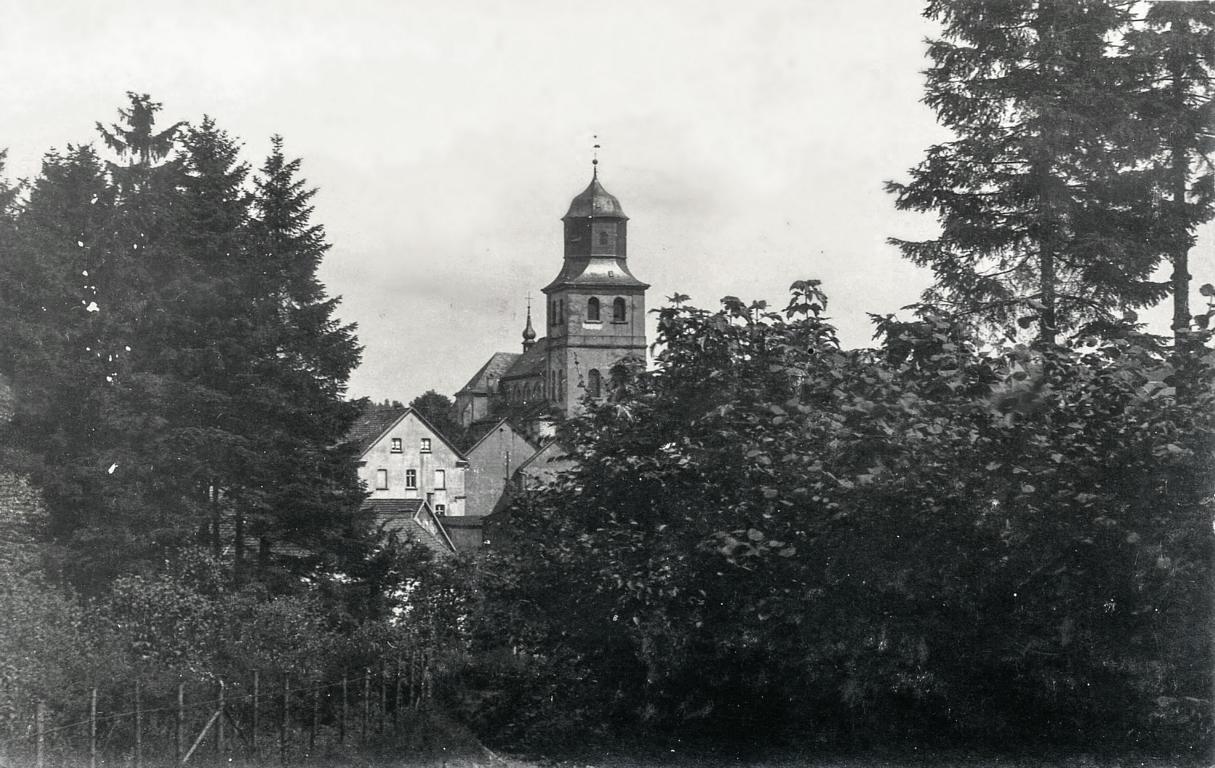 Alte Ansichtskarte, Kapellenweg, Meinerzhagen