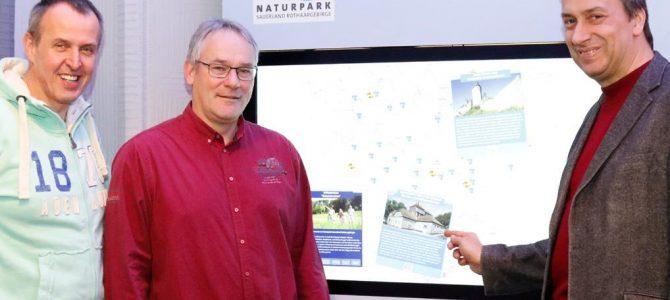 Digitales Wissen über die Naturpark-Arbeit